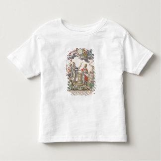 1768年にバーセイルズの条約 トドラーTシャツ