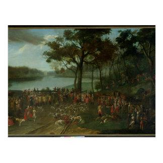 1771年にEtangs de Commellesの石切り場 ポストカード