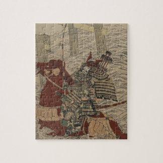 1772年頃水の武士そして馬 ジグソーパズル