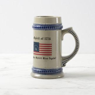 1776の精神はstien ビールジョッキ