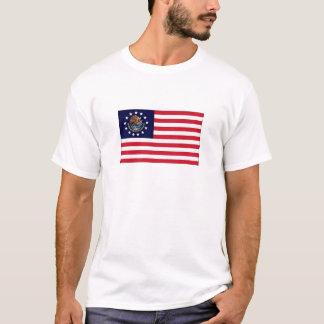 1776アメリカのメキシコ旗のワイシャツ Tシャツ