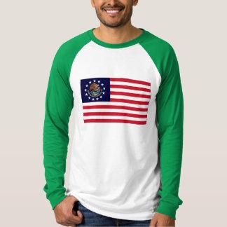 1776アメリカのメキシコ旗 Tシャツ