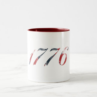 1776愛国心が強いマグ ツートーンマグカップ