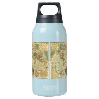 1780年頃Carington Bowles著旧式な世界地図、 断熱ウォーターボトル