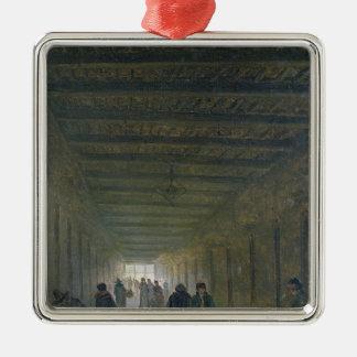 1793年に聖者Lazareの刑務所の通路 メタルオーナメント