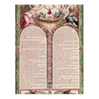 1793年人権の宣言 ポストカード