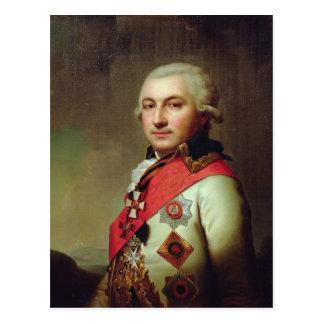 1796年後の海軍大将のホセde Ribasポートレート、 ポストカード