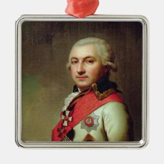 1796年後の海軍大将のホセde Ribasポートレート、 メタルオーナメント