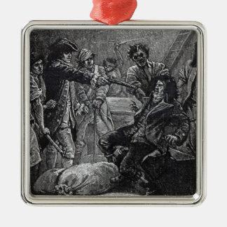 1798年にウォルフの調子の捕獲 メタルオーナメント