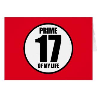 17 -私の生命の全盛 カード