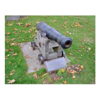18世紀な大砲 ポストカード