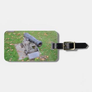 18世紀な大砲 ラゲッジタグ