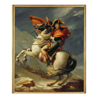 1800年5月20日のアルプスを交差させているナポレオン ポスター
