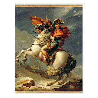 1800年5月20日のアルプスを交差させているナポレオン ポストカード