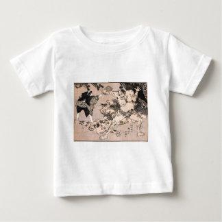 1800's頃相撲のレスリング選手。 日本 ベビーTシャツ