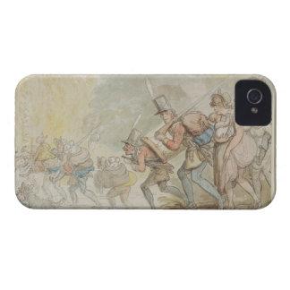1805年3月の兵士(ペン及びインクおよびwatercolo Case-Mate iPhone 4 ケース