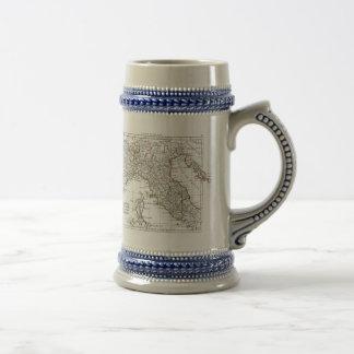 1806地図- L'Italie (Nord) ビールジョッキ