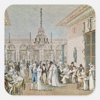1807年にカフェFrascati スクエアシール