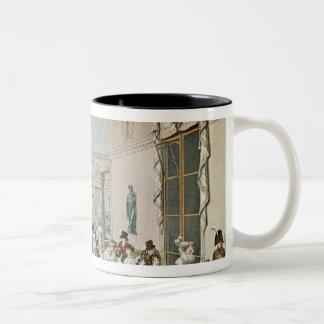 1807年にカフェFrascati ツートーンマグカップ