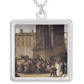 1807年の徴募兵 シルバープレートネックレス
