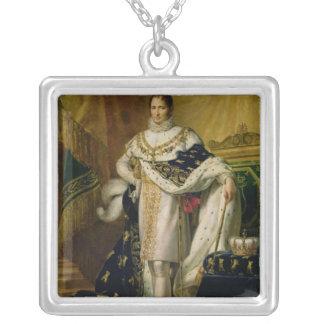 1808年後のヨセフBonaparte シルバープレートネックレス