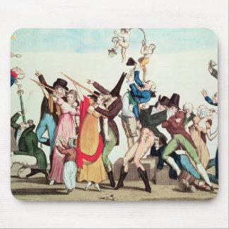 1811年の彗星の風刺漫画、c.1811 マウスパッド