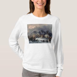 1812年にロシアフランス人戦争からの場面 Tシャツ