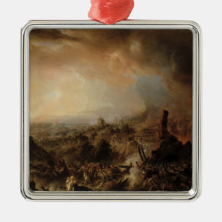 1812年1854年にモスクワの焼却 メタルオーナメント
