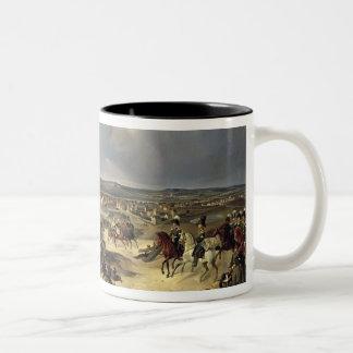 1814年3月17日のパリの戦い1834年 ツートーンマグカップ