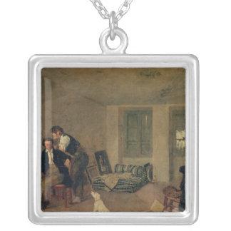 1825年に私の部屋 シルバープレートネックレス