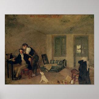 1825年に私の部屋 ポスター