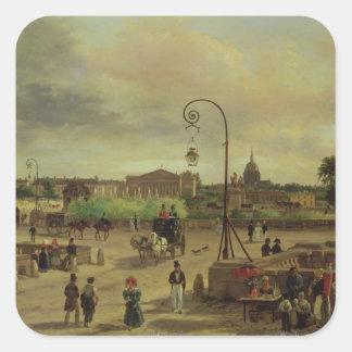 1829年にLaコンコルド広場 スクエアシール