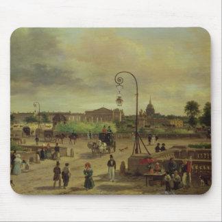 1829年にLaコンコルド広場 マウスパッド