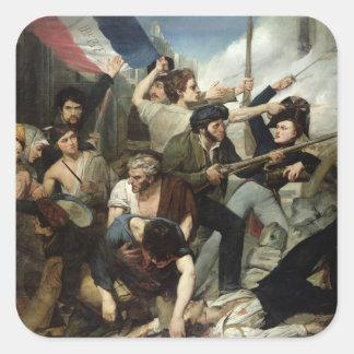 1830年の改革の場面 スクエアシール
