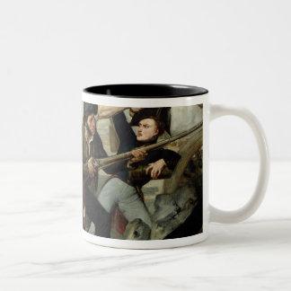 1830年の改革の場面 ツートーンマグカップ