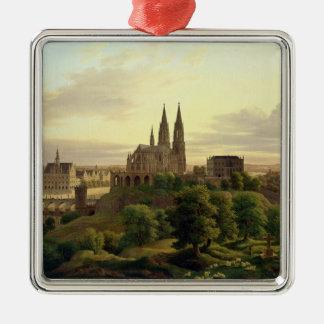 1830年1830年に中世町 メタルオーナメント