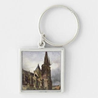 1833年にSt Denisの大修道院教会の回復 キーホルダー