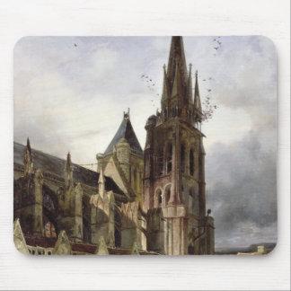 1833年にSt Denisの大修道院教会の回復 マウスパッド