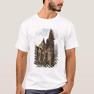 1833年にSt Denisの大修道院教会の回復 Tシャツ