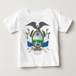 (1845年)エクアドルの歴史的紋章付き外衣 ベビーTシャツ