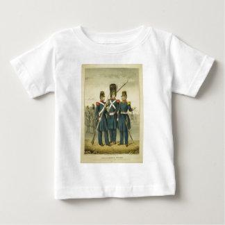 1846年にカリフォルニア国家警備隊 ベビーTシャツ