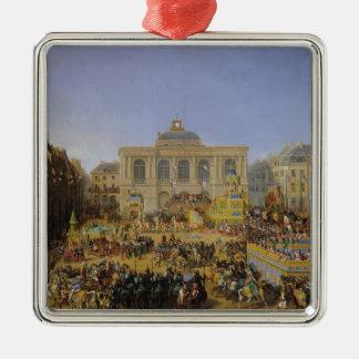 1846年に聖者オメルのKermesse メタルオーナメント