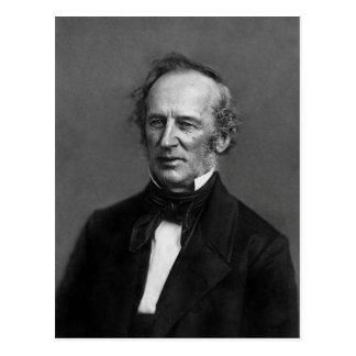 1850年頃提督のコルネリウスVanderbiltのポートレート ポストカード