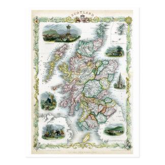 1851年のスコットランド ポストカード
