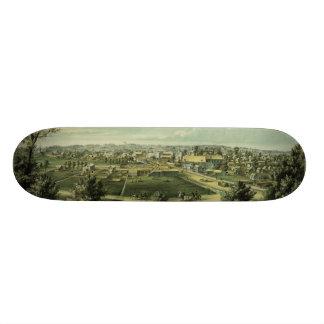 1857年からのWaukeshaウィスコンシン市 スケートボードデッキ