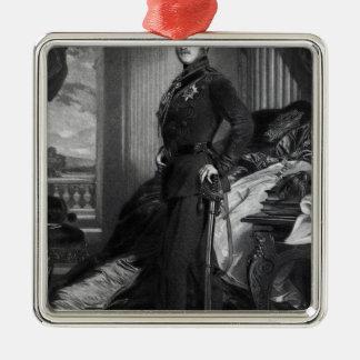 1859年の絵画の後のアルバート王子、 メタルオーナメント