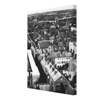 1859年:  ボストン、マサチューセッツ市 キャンバスプリント