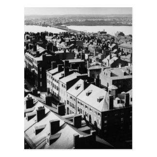 1859年: ボストン、マサチューセッツ市 ポストカード