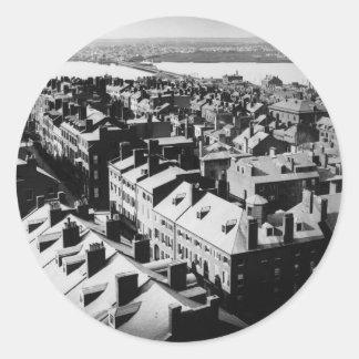 1859年: ボストン、マサチューセッツ市 ラウンドシール