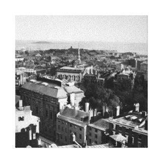 1859年:  見る南ボストンの眺め キャンバスプリント